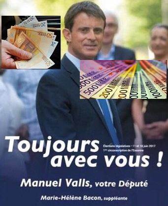 Valls - Money money money - ThePrairie.fr !