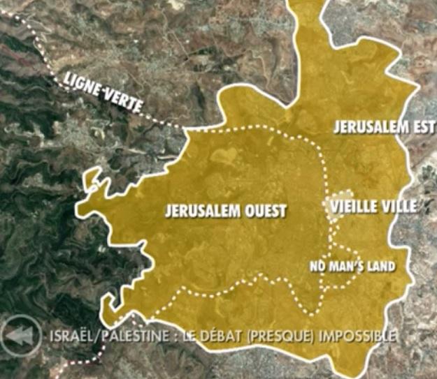 Carte Jérusalem - ThePrairie.fr !