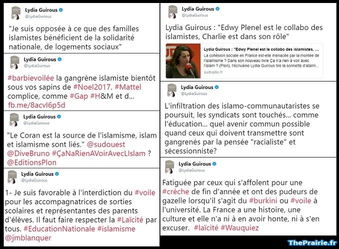 Tweets Lydia Guirous - ThePrairie.fr !