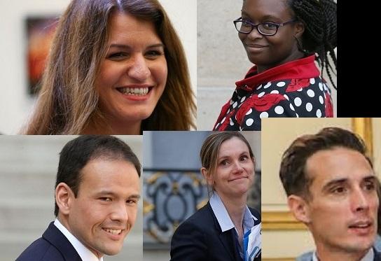 Schiappa, Ndiaye, Cédric O, Pannier-Runacher, Djebbari