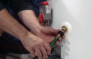 Drain the water from your water heater in emergency situations.