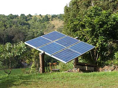 A solar array can be the first step towards self-reliance.