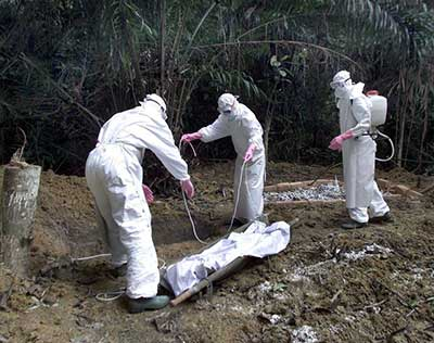 Burial of the dead will still be necessary even during an outbreak.