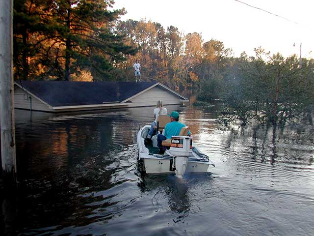 Flooding is a major risk in hurricanes. Even well after the storm has passed.