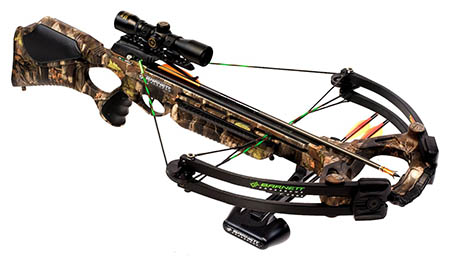 With a crossbow, they won't hear you coming until it's too late.