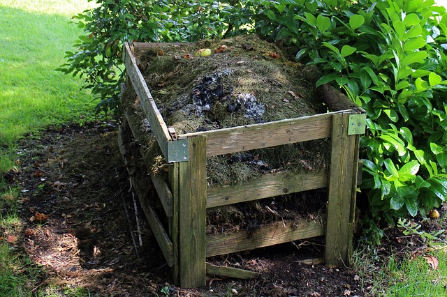 Composting your kitchen scraps and grass clippings is a simple way to create a lot of compost.