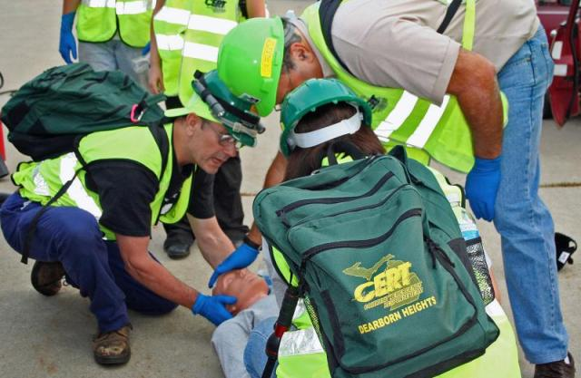 """For those interested in """"prepping on a shoe-string,"""" as well as those who want to assist their communities before and after a disaster, I encourage you to contact your local CERT team."""