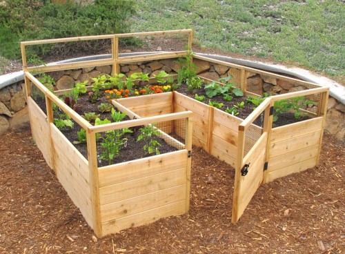 semi-keyhole raised bed - tipsaholic_com