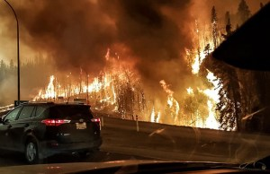 Trying to out run the wildfire - CNN