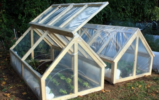There are thousands of DIY Greenhouse plans on the internet.