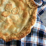 Apple Pie with Wisconsin Cheddar Cheese Crust