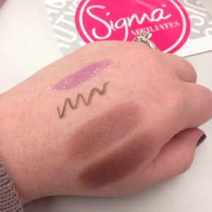 Sigma Affiliates Welcome Gift Swatches