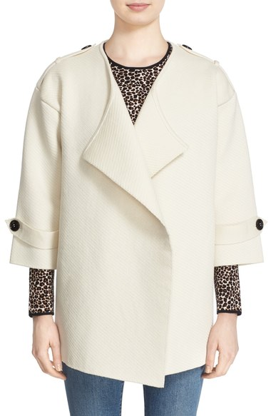Nordstrom Burberry 'SHEPPEY' OPEN FRONT SWEATER