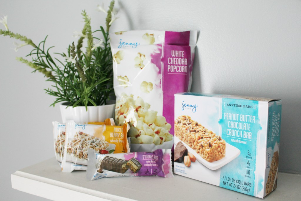 jenny craig vacation tips and snacks