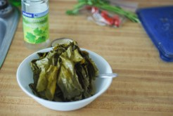 Paleo Dolmathes - stuffed grape leaves - www.ThePrimalDesire.com