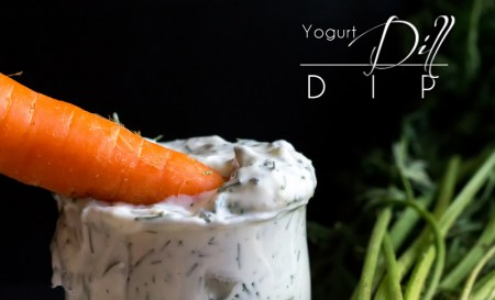 Paleo Yogurt Dill Dip - Looking for a tangy dip for all those fresh veggies harvested from the garden or bought from the market? Look no further than this paleo Yogurt Dill Dip. http://www.theprimaldesire.com/yogurt-dill-dip/