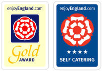 Enjoy England 4 Star and Gold Awards