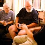 After the evening's Pulpcon events had wound down, small group conversations shifted into high gear in the Pulpcon suite over in the hotel.