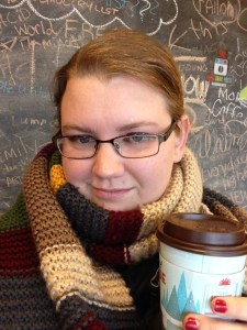 Doctor Who Scarf and Caribou Coffee