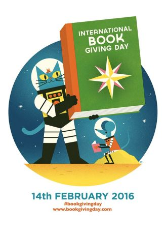 International book giving day poster 2016