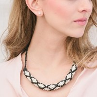 Sophisticate Necklace - Love of Crochet