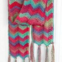 Chevron Super Scarf - Crochet Pattern