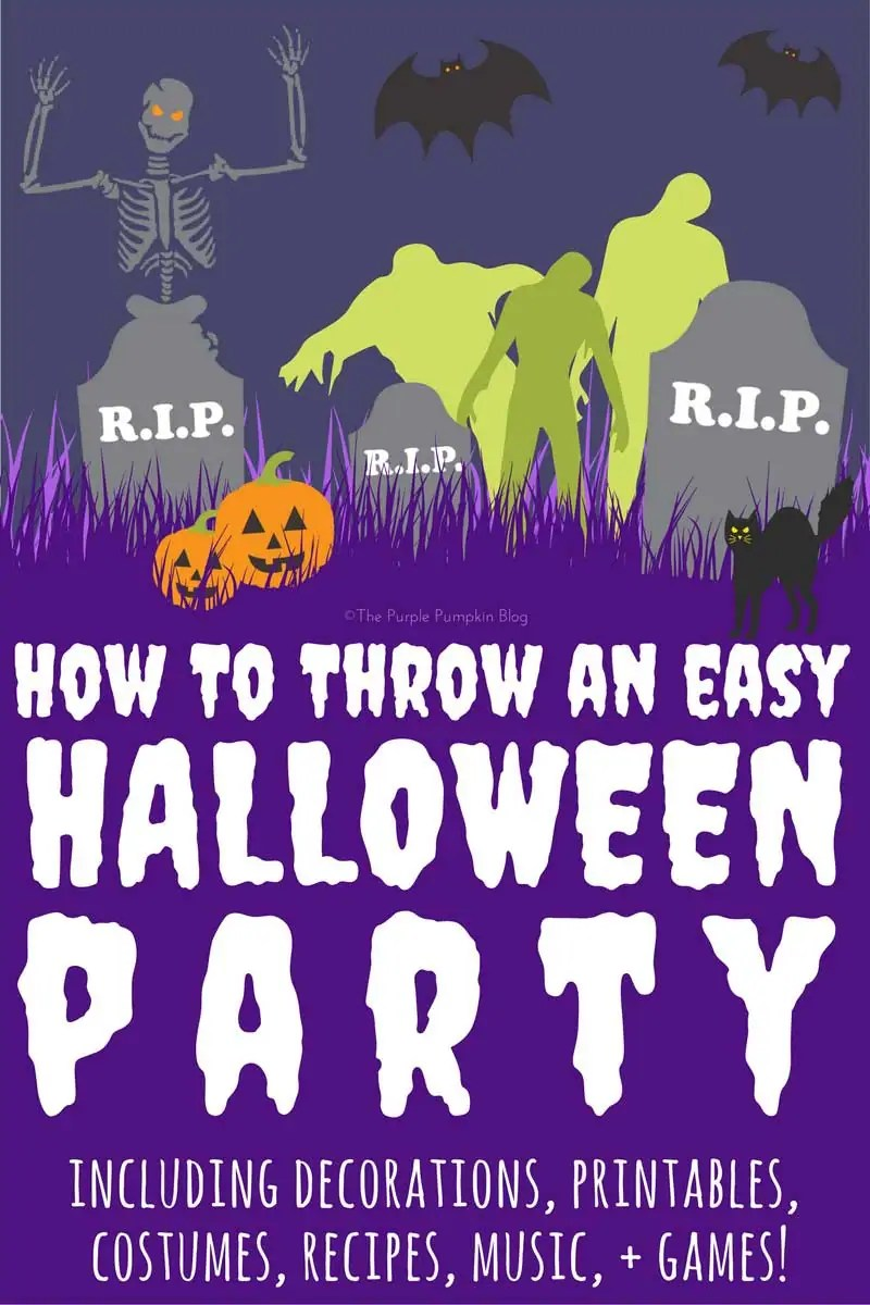 How To Throw An Easy Halloween Party | Crafty October Day 25 » The ...
