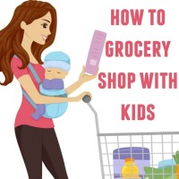 How to Grocery Shop with Kids (and Not Go Crazy)