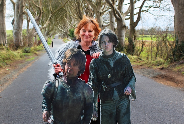 The Dark Hedges - Kings Road - Game of Thrones tour N Ireland - zoedawes