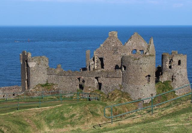 Dunluce Castle on Causeway Coast NI - zoedawes