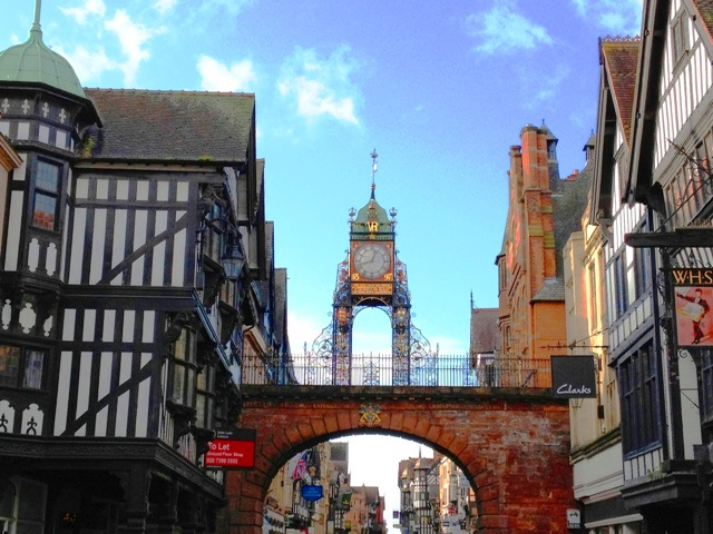 Eastgate and clock Chester zoedawes