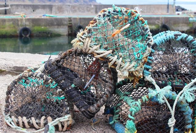 Fishing creels on Rathlin Island NI - zoedawes