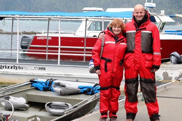 Gary and Zoe Knight Inlet Lodge BC Canada