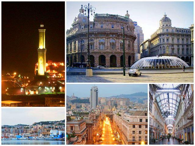 Genoa-Genova Italy - Collage by DanieleDF1995