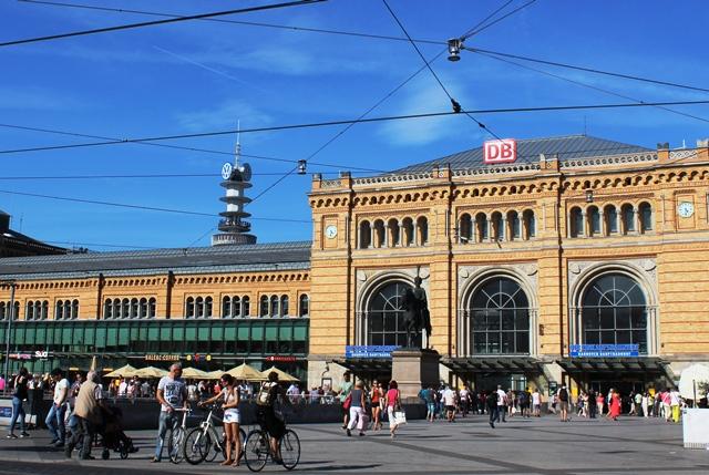 Hanover City railway Station