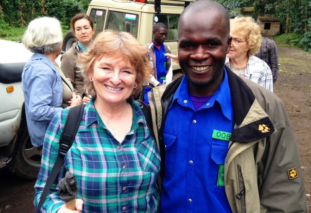 Porter Jean and Zoe Dawes Rwanda