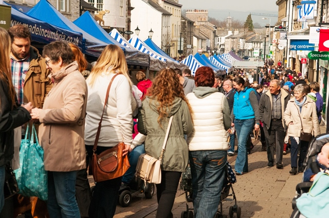 Kendal Food Festival Cumbria
