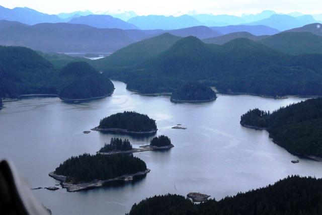 View from seaplane of BC - photo zoedawes