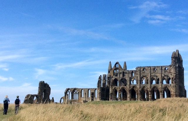 Whitby Abbey Yorkshire - walking holiday - photo zoedawes