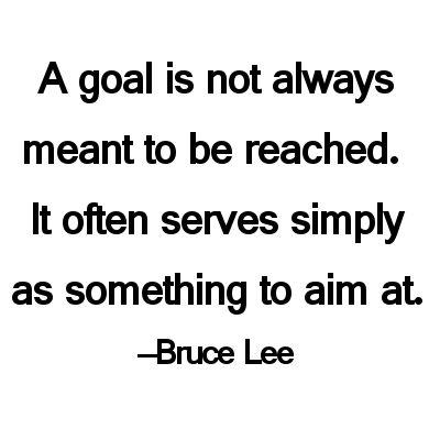 Aim at a goal