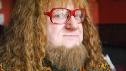 """Bruce Vilanch as the comic/tragic character Fezziwig in the new film Scrooge & Marley, a contemporary retelling of the classic Dicken's tale, """"A Christmas Carol,"""" releasing this holiday season.  Photo by: Hal Baim"""