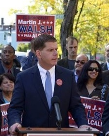 Boston Mayor Marty Walsh creates new position of  Photo: Marty Walsh Official FB Page