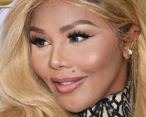 LOS ANGELES, CALIFORNIA - MARCH 31:  Rapper Lil' Kim attends Angel Brinks Fashion 5 Year Anniversary Celebration on March 31, 2016 in Los Angeles, California.  (Photo by Earl Gibson III/Getty Images)