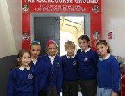Schools Litercy  project at The Glyndwr Racecourse