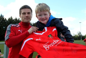 The launch of the new Junior Dragons at Colliers Park