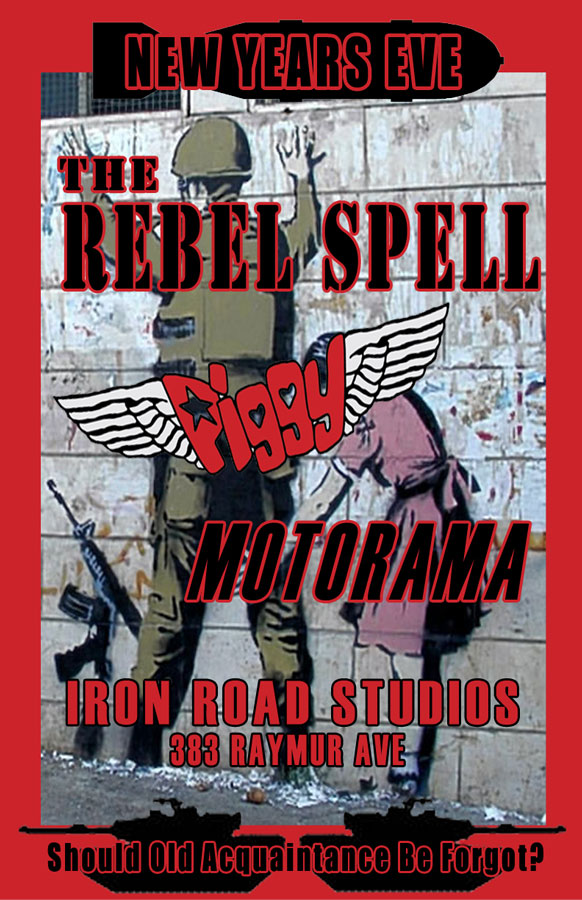 the Rebel Spell New Years Eve 2012
