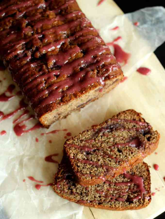 PB & J Banana Bread | www.thereciperebel.com