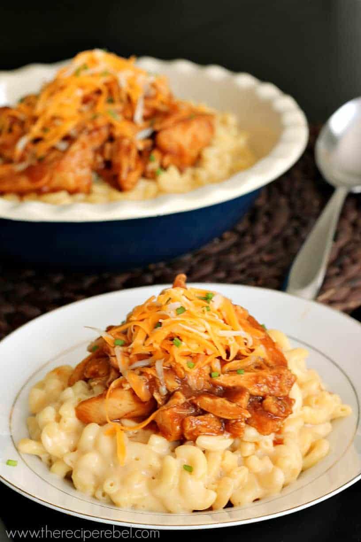 BBQ Chicken Mac & Cheese