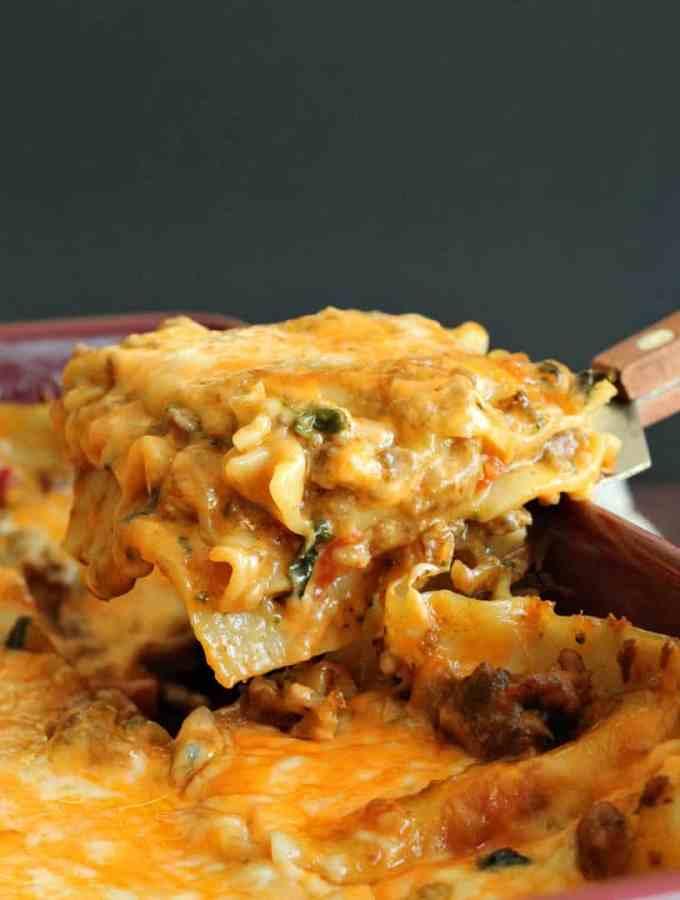 chipotle sausage lasagna 3