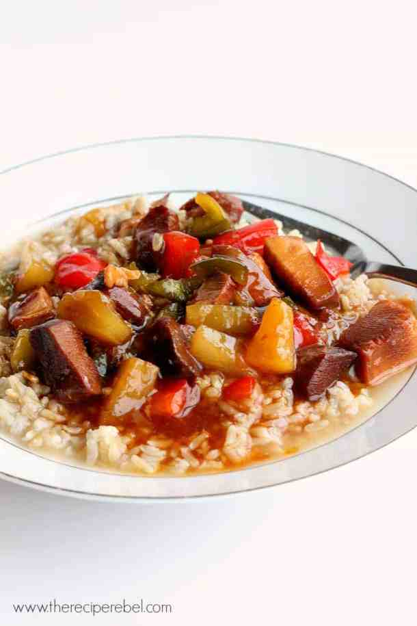 Slow Cooker} Sweet and Sour Chicken: the perfect crockpot meal to ...